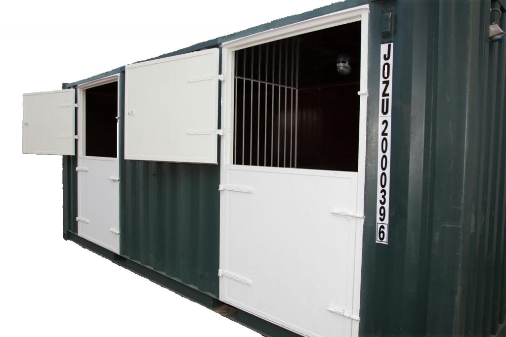 20 ft Paardencontainer