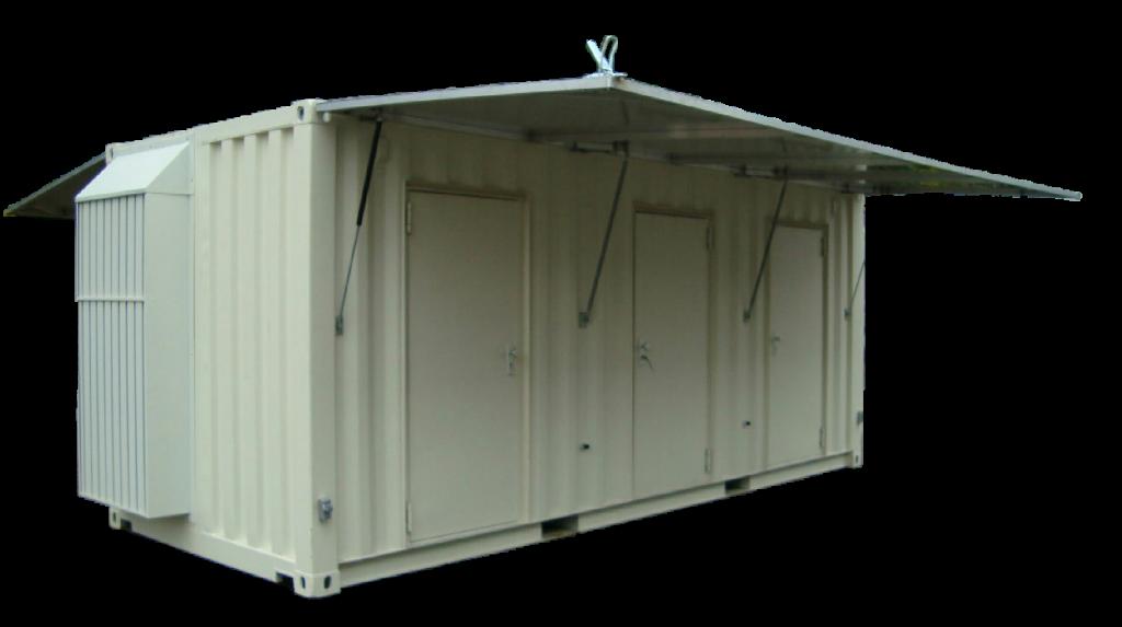 Maatwerk / modificatie van een zeecontainer, pas de container geheel aan naar uw wens.
